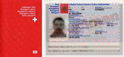 Reisepass (Schweiz) - Pass 10
